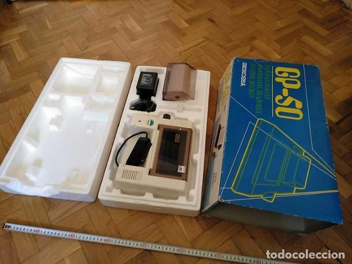 Videojuegos y Consolas: IMPRESORA SEIKOSHA GP-50S COMPATIBLE SINCLAIR SPECTRUM & ZX81 - PRINTER IMPRIMANTE DRUNCKER GP50S - Foto 13 - 155686126