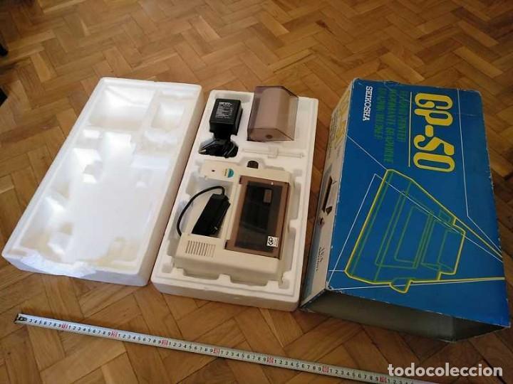 Videojuegos y Consolas: IMPRESORA SEIKOSHA GP-50S COMPATIBLE SINCLAIR SPECTRUM & ZX81 - PRINTER IMPRIMANTE DRUNCKER GP50S - Foto 14 - 155686126