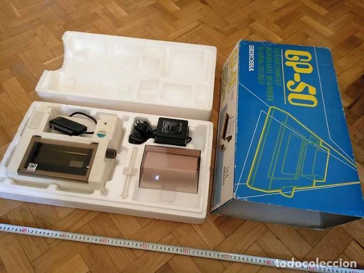 Videojuegos y Consolas: IMPRESORA SEIKOSHA GP-50S COMPATIBLE SINCLAIR SPECTRUM & ZX81 - PRINTER IMPRIMANTE DRUNCKER GP50S - Foto 16 - 155686126