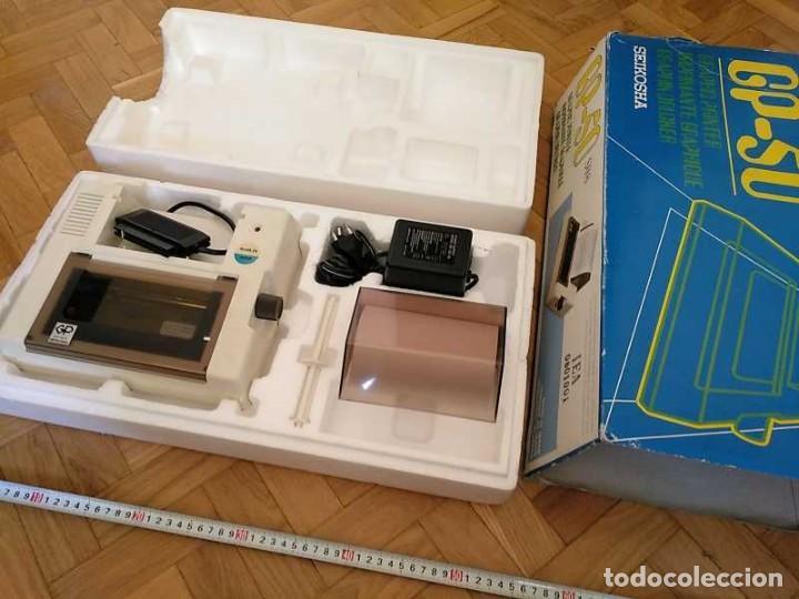 Videojuegos y Consolas: IMPRESORA SEIKOSHA GP-50S COMPATIBLE SINCLAIR SPECTRUM & ZX81 - PRINTER IMPRIMANTE DRUNCKER GP50S - Foto 17 - 155686126
