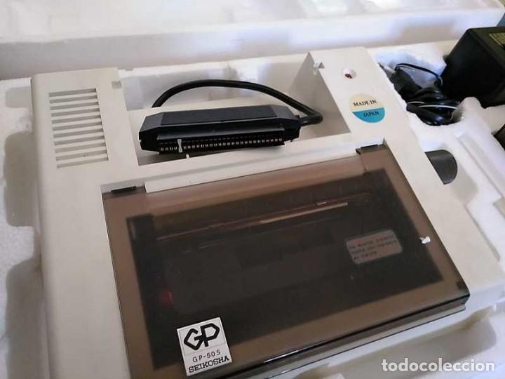 Videojuegos y Consolas: IMPRESORA SEIKOSHA GP-50S COMPATIBLE SINCLAIR SPECTRUM & ZX81 - PRINTER IMPRIMANTE DRUNCKER GP50S - Foto 23 - 155686126