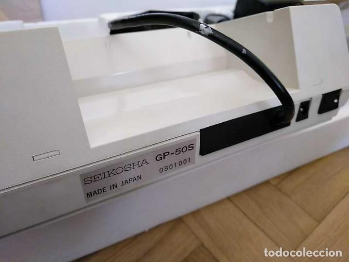 Videojuegos y Consolas: IMPRESORA SEIKOSHA GP-50S COMPATIBLE SINCLAIR SPECTRUM & ZX81 - PRINTER IMPRIMANTE DRUNCKER GP50S - Foto 38 - 155686126