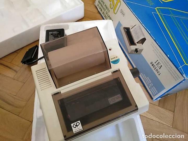 Videojuegos y Consolas: IMPRESORA SEIKOSHA GP-50S COMPATIBLE SINCLAIR SPECTRUM & ZX81 - PRINTER IMPRIMANTE DRUNCKER GP50S - Foto 47 - 155686126