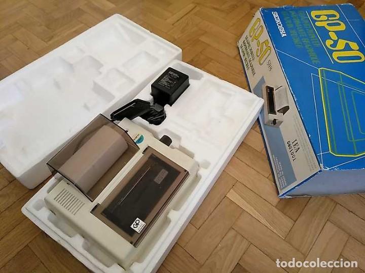 Videojuegos y Consolas: IMPRESORA SEIKOSHA GP-50S COMPATIBLE SINCLAIR SPECTRUM & ZX81 - PRINTER IMPRIMANTE DRUNCKER GP50S - Foto 48 - 155686126