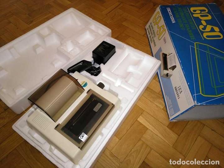 Videojuegos y Consolas: IMPRESORA SEIKOSHA GP-50S COMPATIBLE SINCLAIR SPECTRUM & ZX81 - PRINTER IMPRIMANTE DRUNCKER GP50S - Foto 49 - 155686126