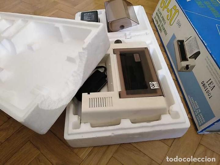 Videojuegos y Consolas: IMPRESORA SEIKOSHA GP-50S COMPATIBLE SINCLAIR SPECTRUM & ZX81 - PRINTER IMPRIMANTE DRUNCKER GP50S - Foto 53 - 155686126