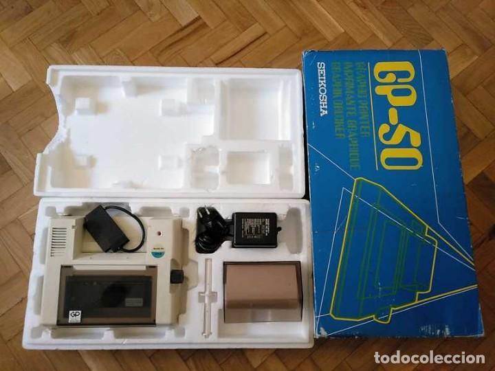 Videojuegos y Consolas: IMPRESORA SEIKOSHA GP-50S COMPATIBLE SINCLAIR SPECTRUM & ZX81 - PRINTER IMPRIMANTE DRUNCKER GP50S - Foto 54 - 155686126