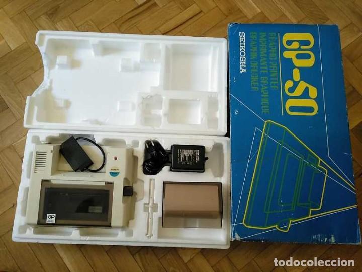 Videojuegos y Consolas: IMPRESORA SEIKOSHA GP-50S COMPATIBLE SINCLAIR SPECTRUM & ZX81 - PRINTER IMPRIMANTE DRUNCKER GP50S - Foto 55 - 155686126