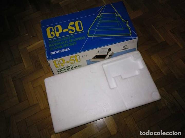 Videojuegos y Consolas: IMPRESORA SEIKOSHA GP-50S COMPATIBLE SINCLAIR SPECTRUM & ZX81 - PRINTER IMPRIMANTE DRUNCKER GP50S - Foto 57 - 155686126