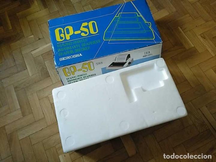 Videojuegos y Consolas: IMPRESORA SEIKOSHA GP-50S COMPATIBLE SINCLAIR SPECTRUM & ZX81 - PRINTER IMPRIMANTE DRUNCKER GP50S - Foto 58 - 155686126