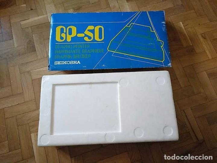 Videojuegos y Consolas: IMPRESORA SEIKOSHA GP-50S COMPATIBLE SINCLAIR SPECTRUM & ZX81 - PRINTER IMPRIMANTE DRUNCKER GP50S - Foto 59 - 155686126
