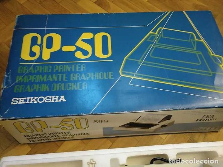Videojuegos y Consolas: IMPRESORA SEIKOSHA GP-50S COMPATIBLE SINCLAIR SPECTRUM & ZX81 - PRINTER IMPRIMANTE DRUNCKER GP50S - Foto 65 - 155686126