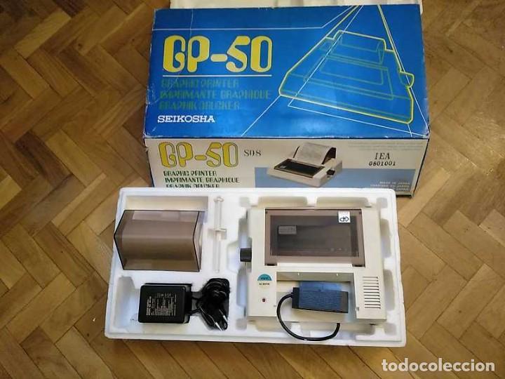 Videojuegos y Consolas: IMPRESORA SEIKOSHA GP-50S COMPATIBLE SINCLAIR SPECTRUM & ZX81 - PRINTER IMPRIMANTE DRUNCKER GP50S - Foto 73 - 155686126