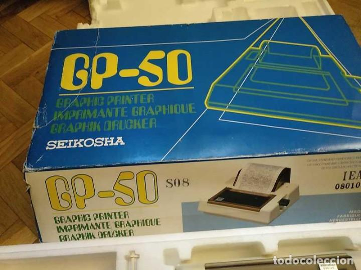 Videojuegos y Consolas: IMPRESORA SEIKOSHA GP-50S COMPATIBLE SINCLAIR SPECTRUM & ZX81 - PRINTER IMPRIMANTE DRUNCKER GP50S - Foto 74 - 155686126