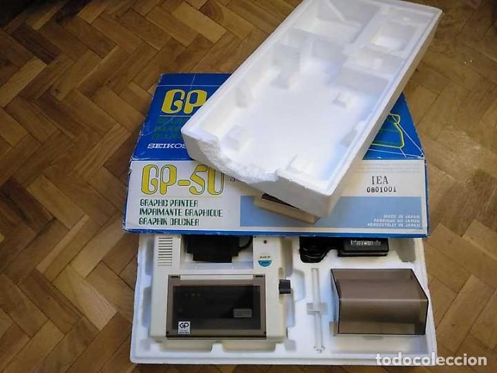 Videojuegos y Consolas: IMPRESORA SEIKOSHA GP-50S COMPATIBLE SINCLAIR SPECTRUM & ZX81 - PRINTER IMPRIMANTE DRUNCKER GP50S - Foto 76 - 155686126