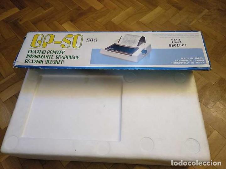 Videojuegos y Consolas: IMPRESORA SEIKOSHA GP-50S COMPATIBLE SINCLAIR SPECTRUM & ZX81 - PRINTER IMPRIMANTE DRUNCKER GP50S - Foto 82 - 155686126