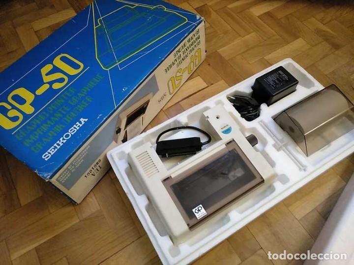 Videojuegos y Consolas: IMPRESORA SEIKOSHA GP-50S COMPATIBLE SINCLAIR SPECTRUM & ZX81 - PRINTER IMPRIMANTE DRUNCKER GP50S - Foto 85 - 155686126