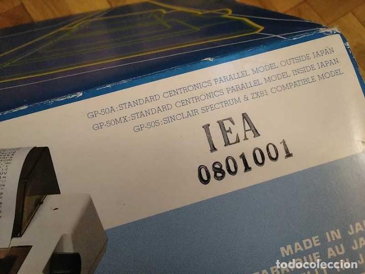 Videojuegos y Consolas: IMPRESORA SEIKOSHA GP-50S COMPATIBLE SINCLAIR SPECTRUM & ZX81 - PRINTER IMPRIMANTE DRUNCKER GP50S - Foto 87 - 155686126