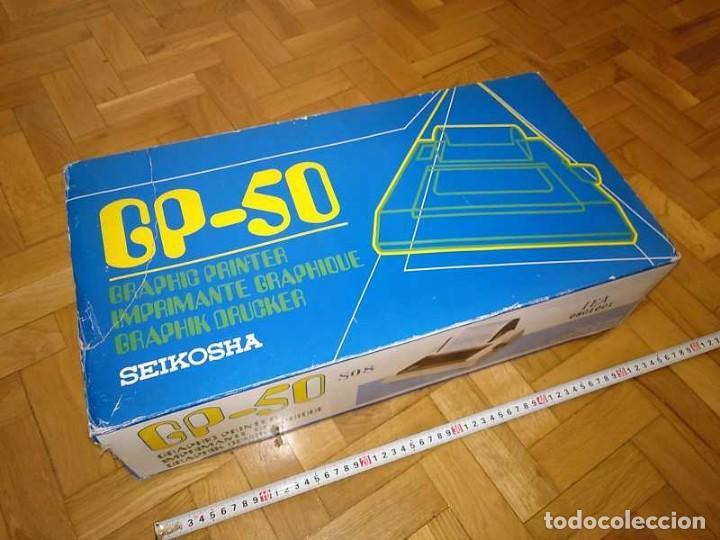 Videojuegos y Consolas: IMPRESORA SEIKOSHA GP-50S COMPATIBLE SINCLAIR SPECTRUM & ZX81 - PRINTER IMPRIMANTE DRUNCKER GP50S - Foto 88 - 155686126