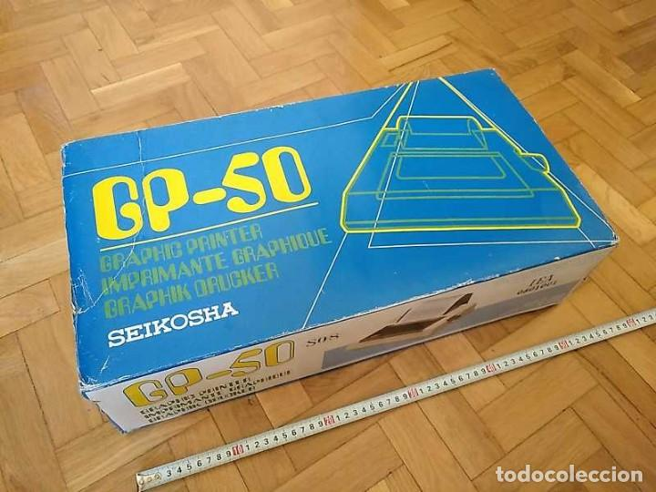 Videojuegos y Consolas: IMPRESORA SEIKOSHA GP-50S COMPATIBLE SINCLAIR SPECTRUM & ZX81 - PRINTER IMPRIMANTE DRUNCKER GP50S - Foto 89 - 155686126