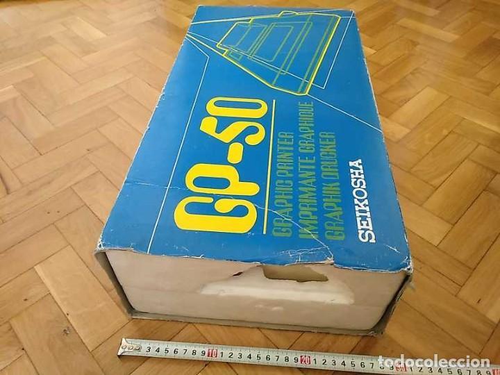Videojuegos y Consolas: IMPRESORA SEIKOSHA GP-50S COMPATIBLE SINCLAIR SPECTRUM & ZX81 - PRINTER IMPRIMANTE DRUNCKER GP50S - Foto 90 - 155686126