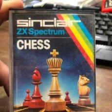 Videojuegos y Consolas: VIDEOJUEGO CHESS - SPECTRUM. Lote 156532790