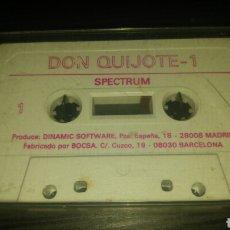 Videojuegos y Consolas: JUEGO DON QUIJOTE SPECTRUM (DINAMIC). Lote 158687321