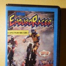 Videojuegos y Consolas: JUEGO PARA CONSOLA EN CINTA DE CASSETTE - ZX SPECTRUM - SEGA ENDURO RACER - PROEIN ACTIVISION 1987. Lote 175760482