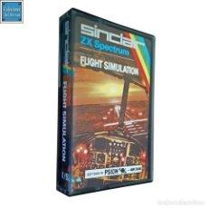 Videojuegos y Consolas: FLIGHT SIMULATION / JUEGO SPECTRUM CINTA / SINCLAIR 1982. Lote 159850418