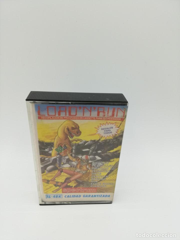 LOAD N RUN SPECTRUM (Juguetes - Videojuegos y Consolas - Spectrum)