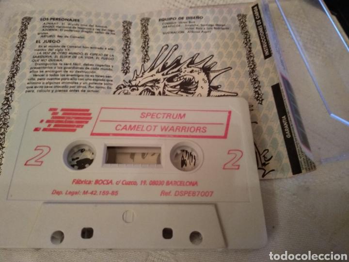 Videojuegos y Consolas: LOTE 4 CASETTES SPECTRUM DINAMIC - Foto 3 - 160743214