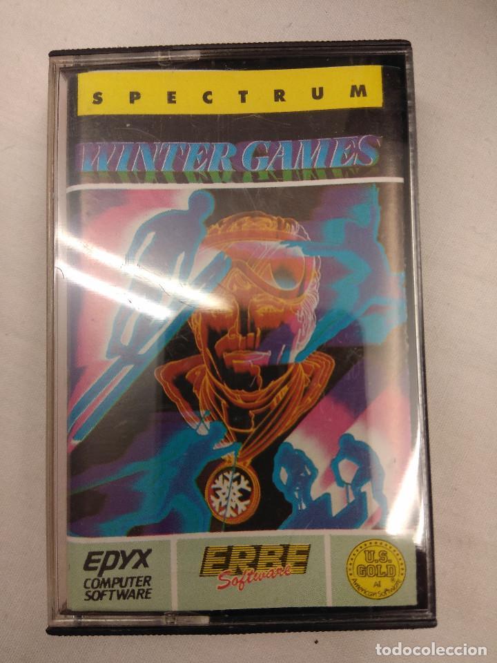JUEGO SPECTRUM/WINTER GAMES. (Juguetes - Videojuegos y Consolas - Spectrum)