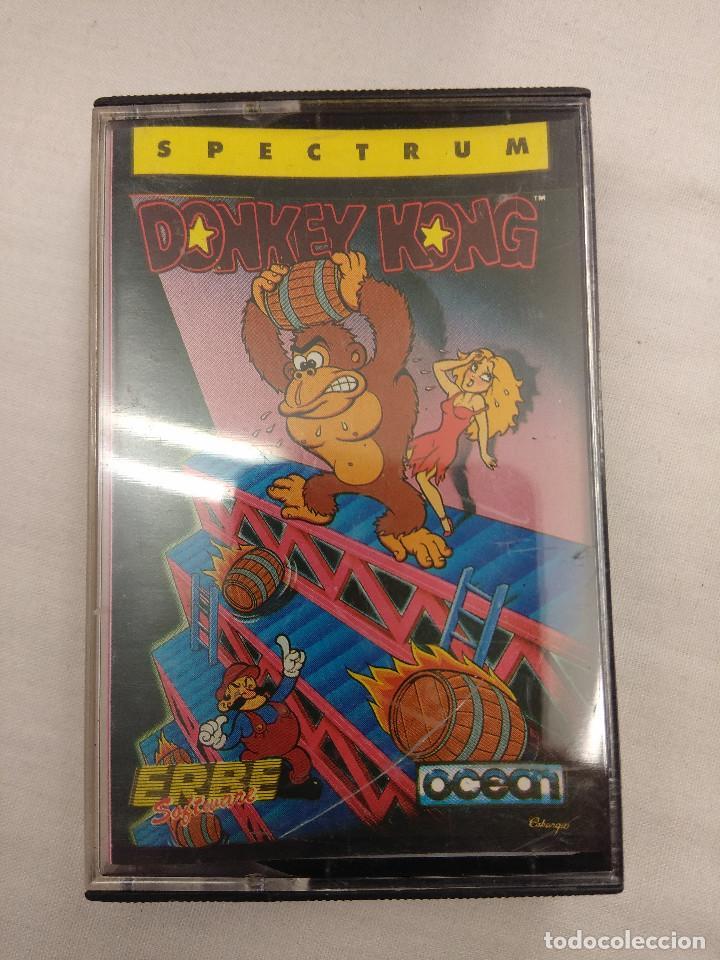 JUEGO SPECTRUM/DONKEY KONG. (Juguetes - Videojuegos y Consolas - Spectrum)