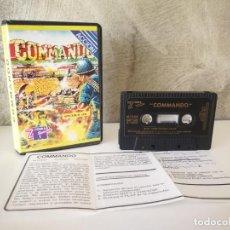 Videojuegos y Consolas: COMMANDO SPECTRUM EN ESTUCHE. Lote 195144265