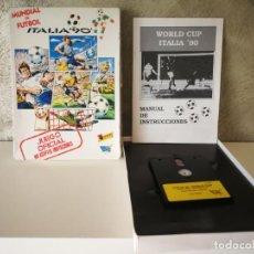 Videojuegos y Consolas: MUNDIAL DE FÚTBOL ITALIA 90 SPECTRUM +3 DISCO. Lote 161688826