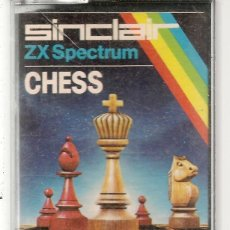 Videojuegos y Consolas: SINCLAIR ZX SPECTRUM. CHESS. SOLO CARTUCHO. (RF.MA)Ñ. Lote 162596402