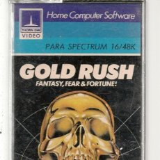 Videojuegos y Consolas: GOLD RUSH. FANTASY, FEAR&FORTUNE. SPECTRUM. SOLO CARTUCHO. (RF.MA)Ñ. Lote 162596814