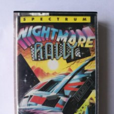 Videojuegos y Consolas: NIGHTMARE RALLY TESTEADO SPECTRUM. Lote 162597078