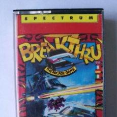 Videojuegos y Consolas: BREAKTHRU TESTEADO SPECTRUM. Lote 162599170