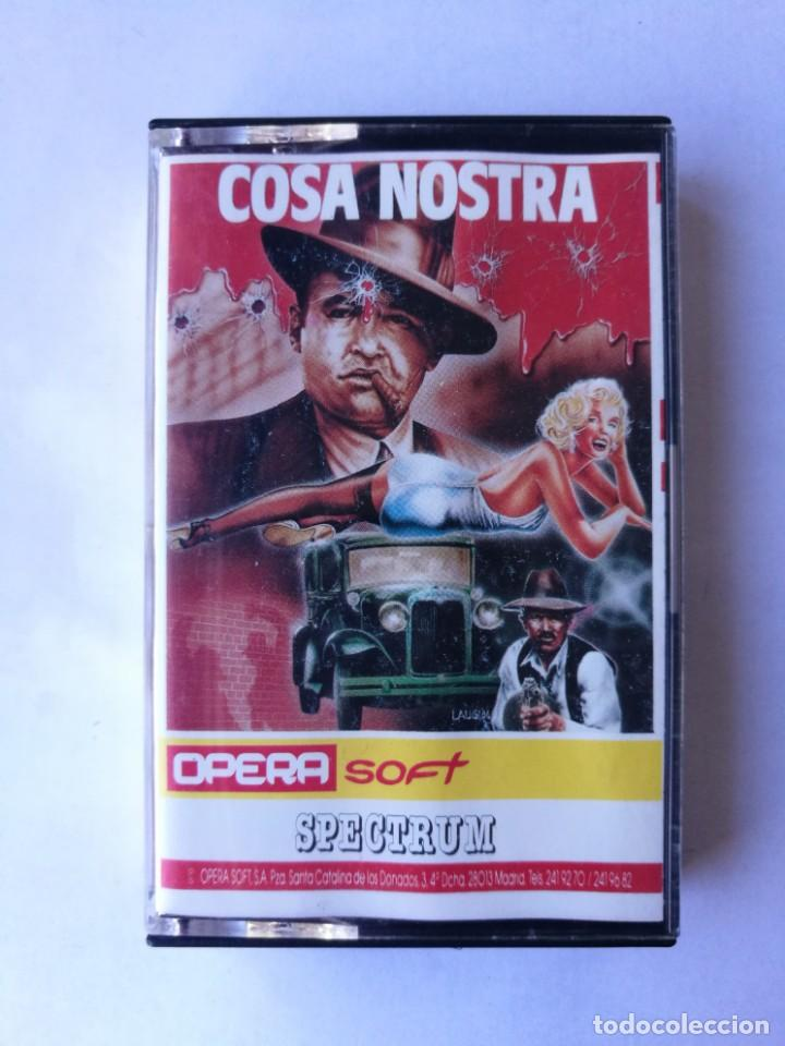 COSA NOSTRA TESTEADO SPECTRUM (Juguetes - Videojuegos y Consolas - Spectrum)