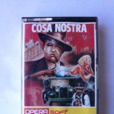 Videojuegos y Consolas: COSA NOSTRA TESTEADO SPECTRUM. Lote 162761670