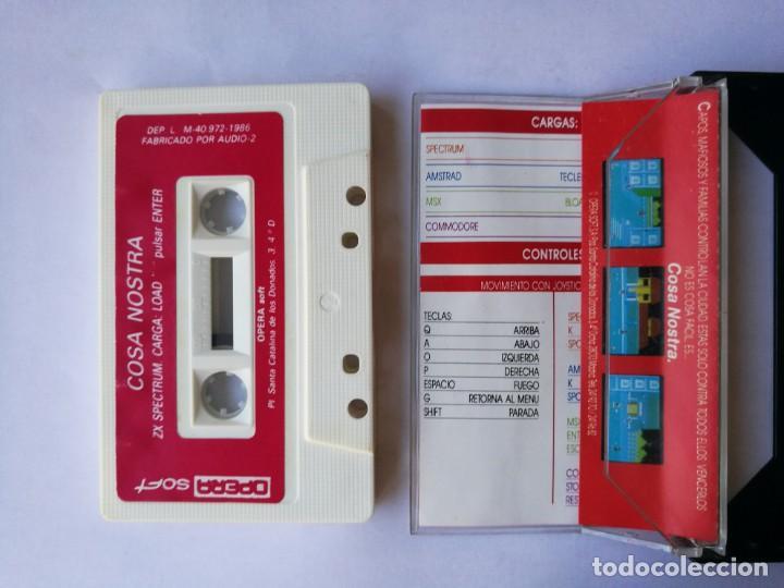 Videojuegos y Consolas: Cosa Nostra testeado Spectrum - Foto 2 - 162761670