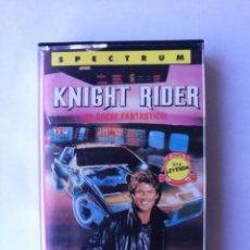 Videojuegos y Consolas: KNIGHT RIDER TESTEADO SPECTRUM. Lote 162761850