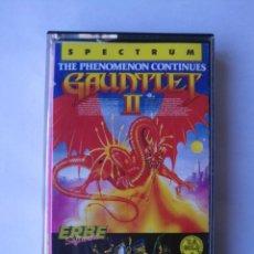 Videojuegos y Consolas: GAUNTLET II TESTEADO SPECTRUM. Lote 162766530