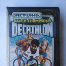 Videojuegos y Consolas: DECATHLON TESTEADO SPECTRUM. Lote 162931362