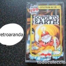 Videojuegos y Consolas: JUEGO SPECTRUM SINCLAIR ZX *DOWN TO EARTH* 48K 128K PAL UK.. Lote 164002858