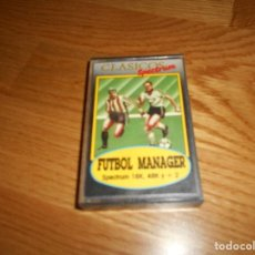 Videojuegos y Consolas: FUTBOL MANAGER ORIGINAL:FOOTBALL MANAGER ADDICTIVE GAMES MICROBYTE INDESCOMP ZX SPECTRUM. Lote 164109686