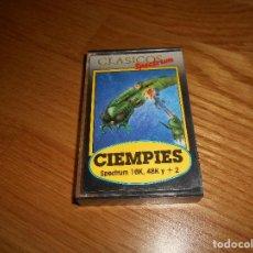 Videojuegos y Consolas: JUEGO PARA SPECTRUM Y COMPATIBLES - CLASICOS SPECTRUM - CIEMPIES - MICROBYTE. Lote 164111462