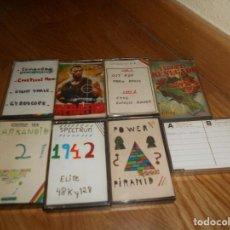 Videojuegos y Consolas: LOTE 8 JUEGOS SPECTRUM. Lote 164138554