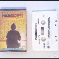 Videojuegos y Consolas: CINTA SPECTRUM SINCLAIR PROGRAMAS MICROHOBBY AÑO I Nº 8. Lote 164413570